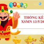 Thống kê loto gan SXMN 13/5/2021 hôm nay