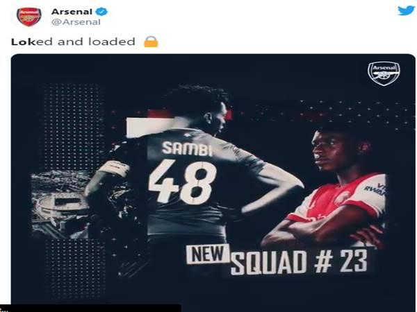 Tin bóng đá trưa 20/7: Arsenal đón tân binh 18 triệu bảng
