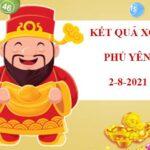 Thống kê KQXS Phú Yên thứ 2 ngày 2/8/2021