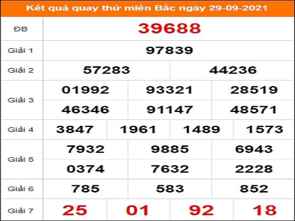 🍀 Quay thử dự đoán KQXSMB 29/9/2021